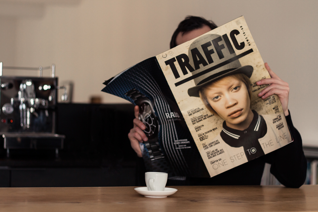 the cover of Traffic Issue 28