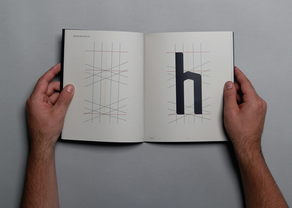 How the typeface for the Hirschgarten Redesign Project was made