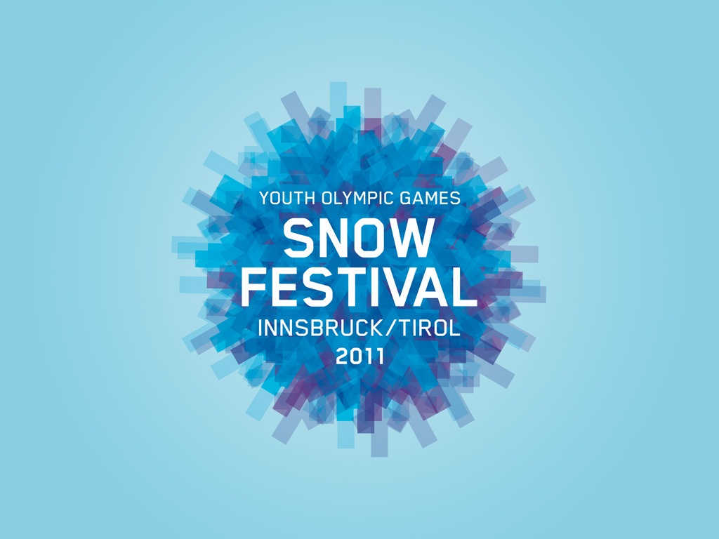 Logo for the Youth Olympic Snow Festival 2011 in Innsbruck